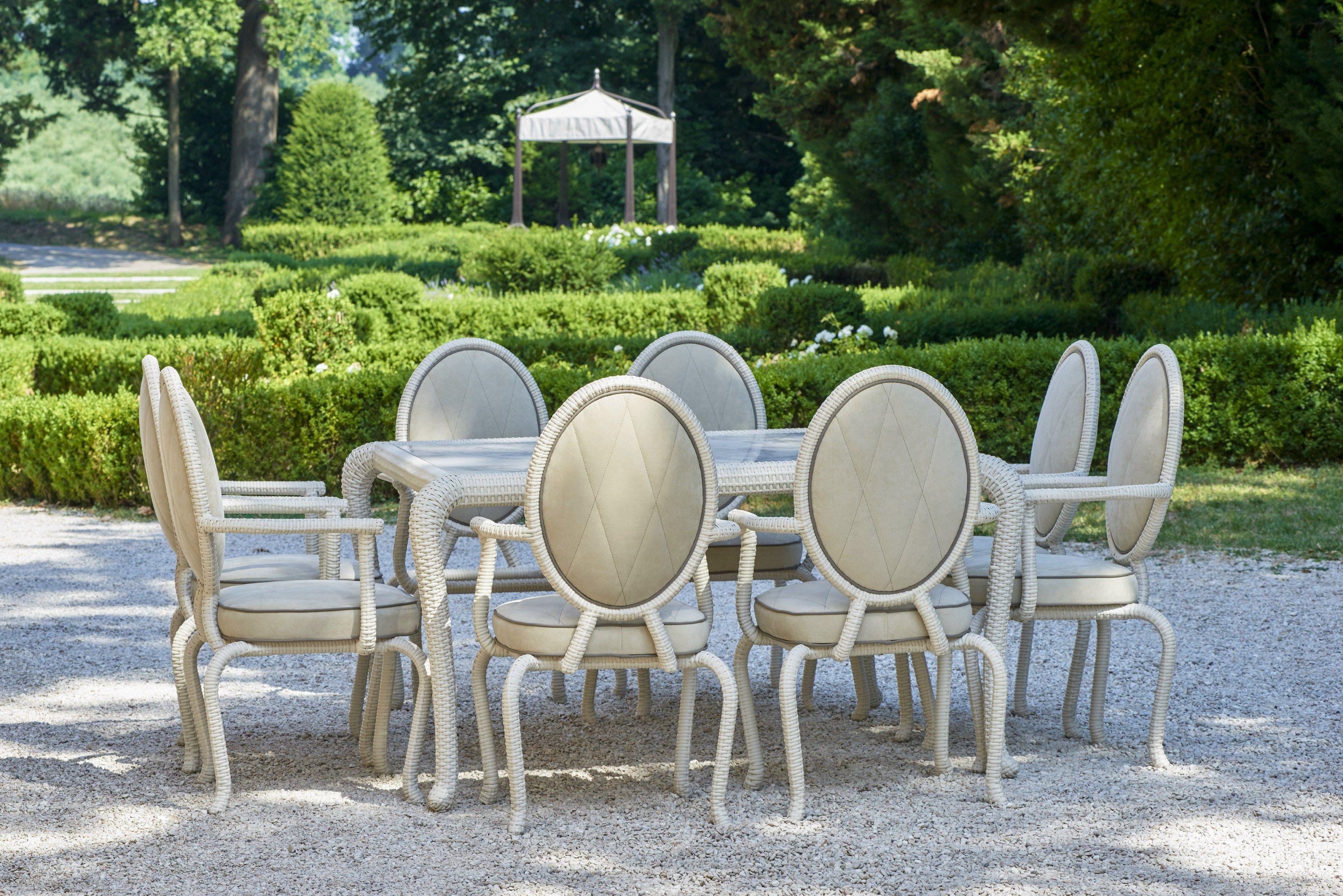 CANOPO BRIDGE Sedia Da Giardino By Samuele Mazza Outdoor Collection By  #79913A 3462 2310 Tavolo Da Pranzo Per Giardino