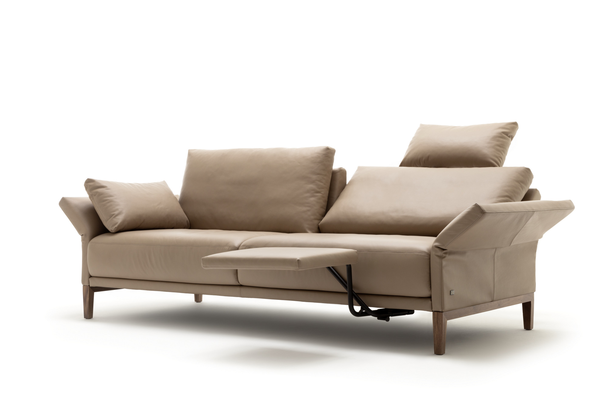 Cara Sofa Aus Leder Kollektion Cara By Rolf Benz Design
