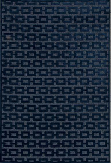Tappeto rettangolare in viscosa a motivi geometrici chain - Sirecom tappeti ...