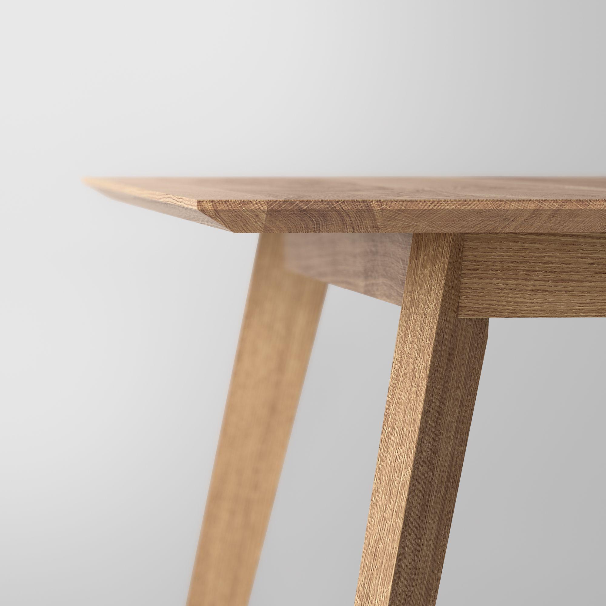 tavolo rettangolare in legno massello citius by vitamin design. Black Bedroom Furniture Sets. Home Design Ideas