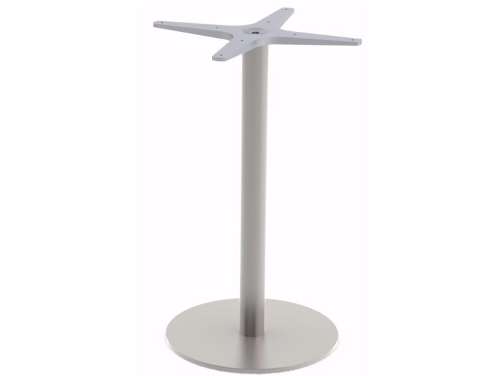 Base per tavoli in acciaio inox CLASSIC by Adico design Miguel Rodrigues