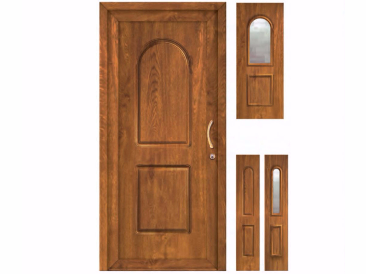 Porta d'ingresso in PVC per esterno su misura CLASSIC SIVIGLIA by FOSSATI PVC