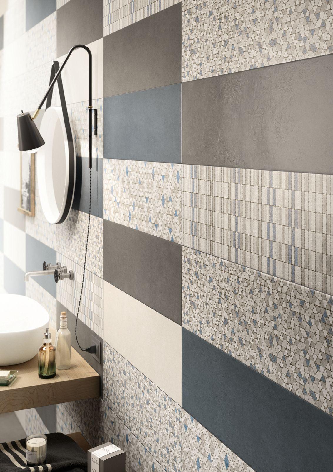 White paste wall floor tiles clayline by marazzi for Carrelage marazzi prix