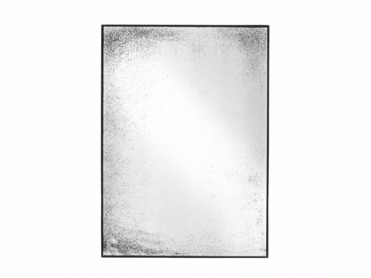 Miroir rectangulaire clear mirror small collection miroirs for Miroir texture