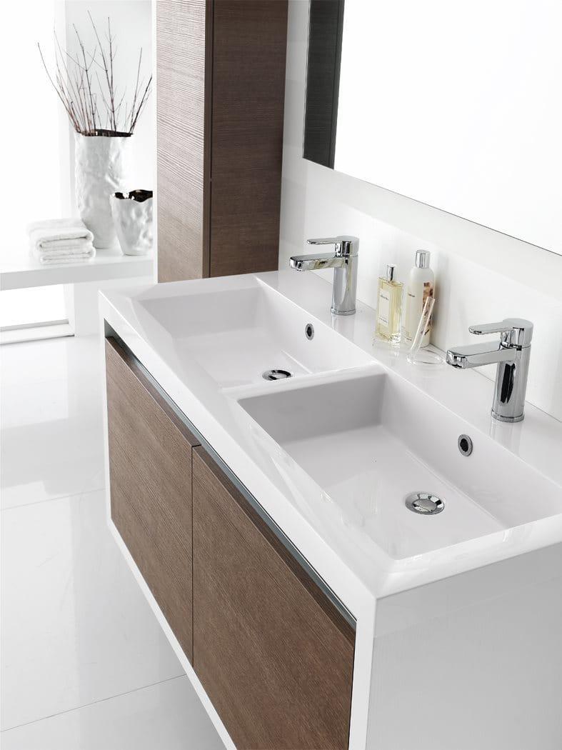 Meuble pour salle de bain meuble sous vasque en for Meuble pour collection