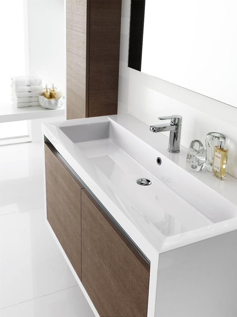 laminate bathroom cabinet vanity unit clever composizione 3 inda