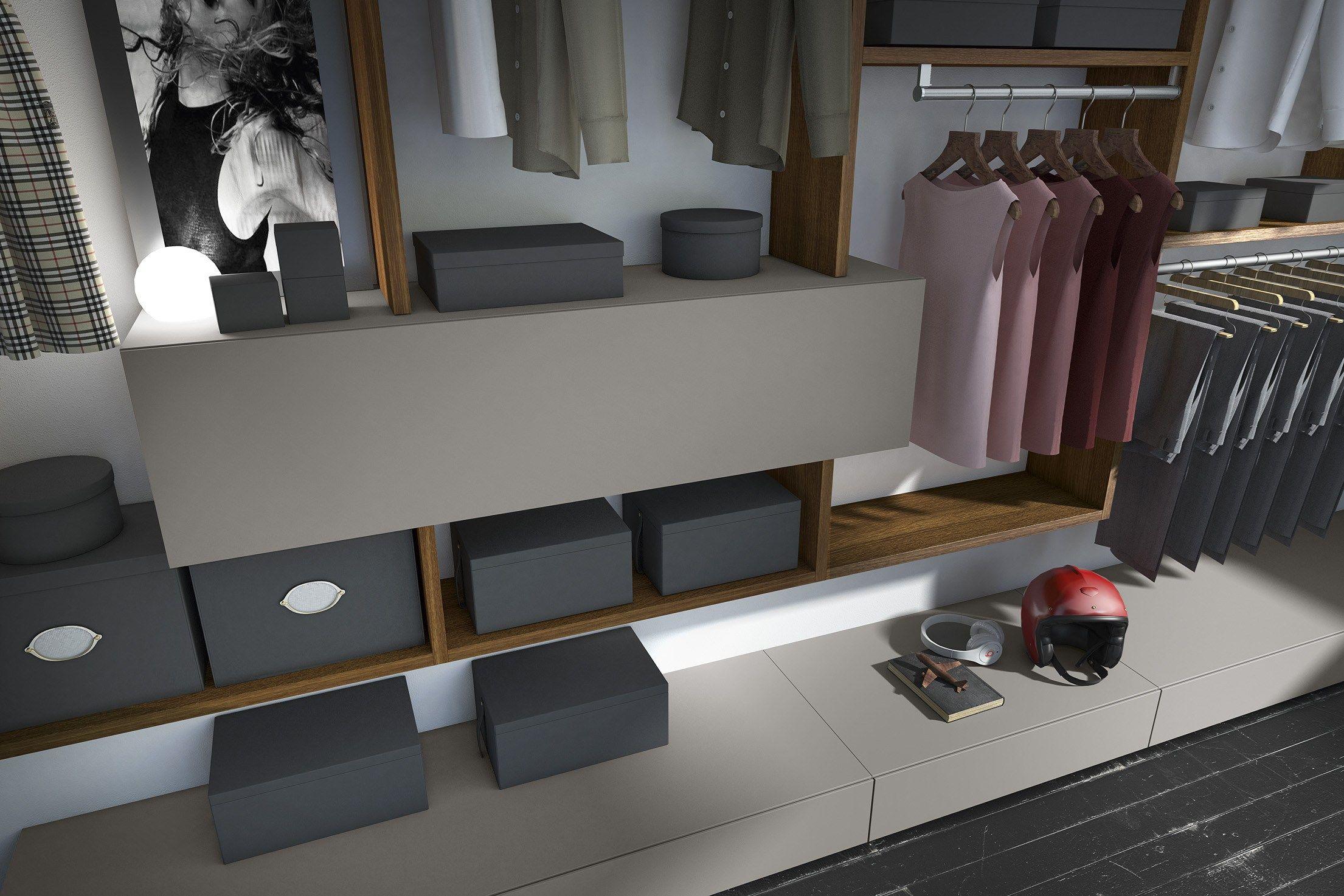 Camera da letto in legno in stile moderno crossart 526 for Mobili design moderno