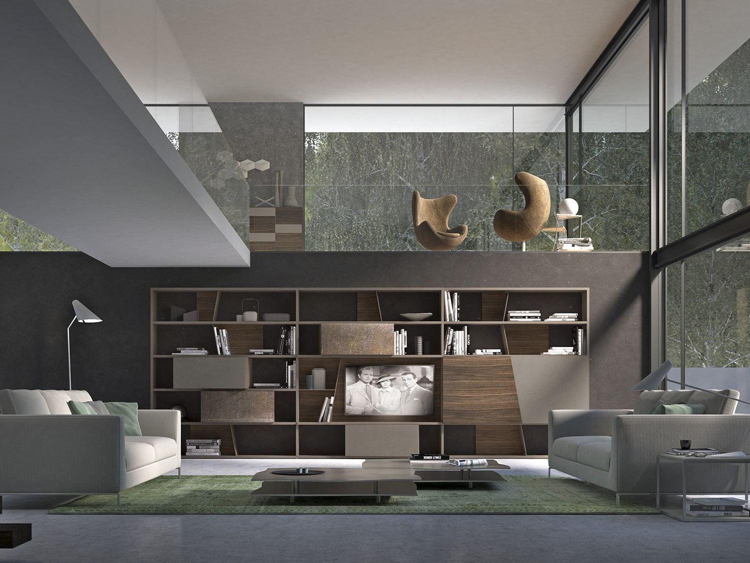Aufbewahrungsmobel Wohnzimmer Pari Dispari Presotto – Modernise.info