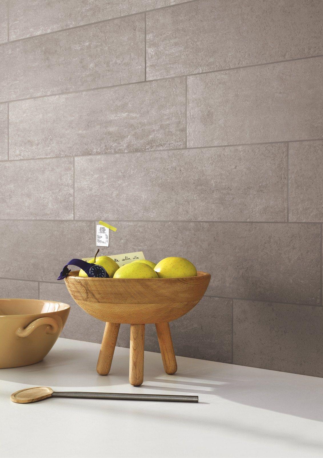 Rivestimento in gres porcellanato effetto cemento CONCEPT by Ragno