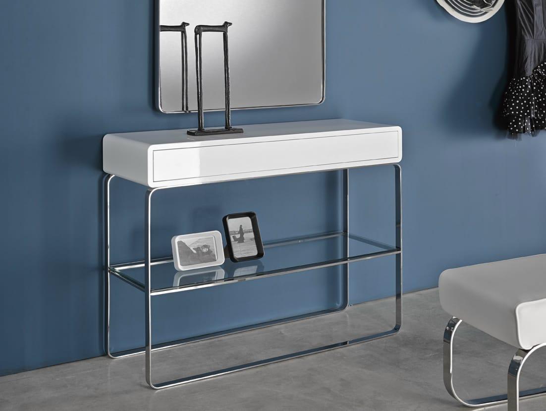 Velvet consolle collezione velvet by altinox minimal design for Consolle design