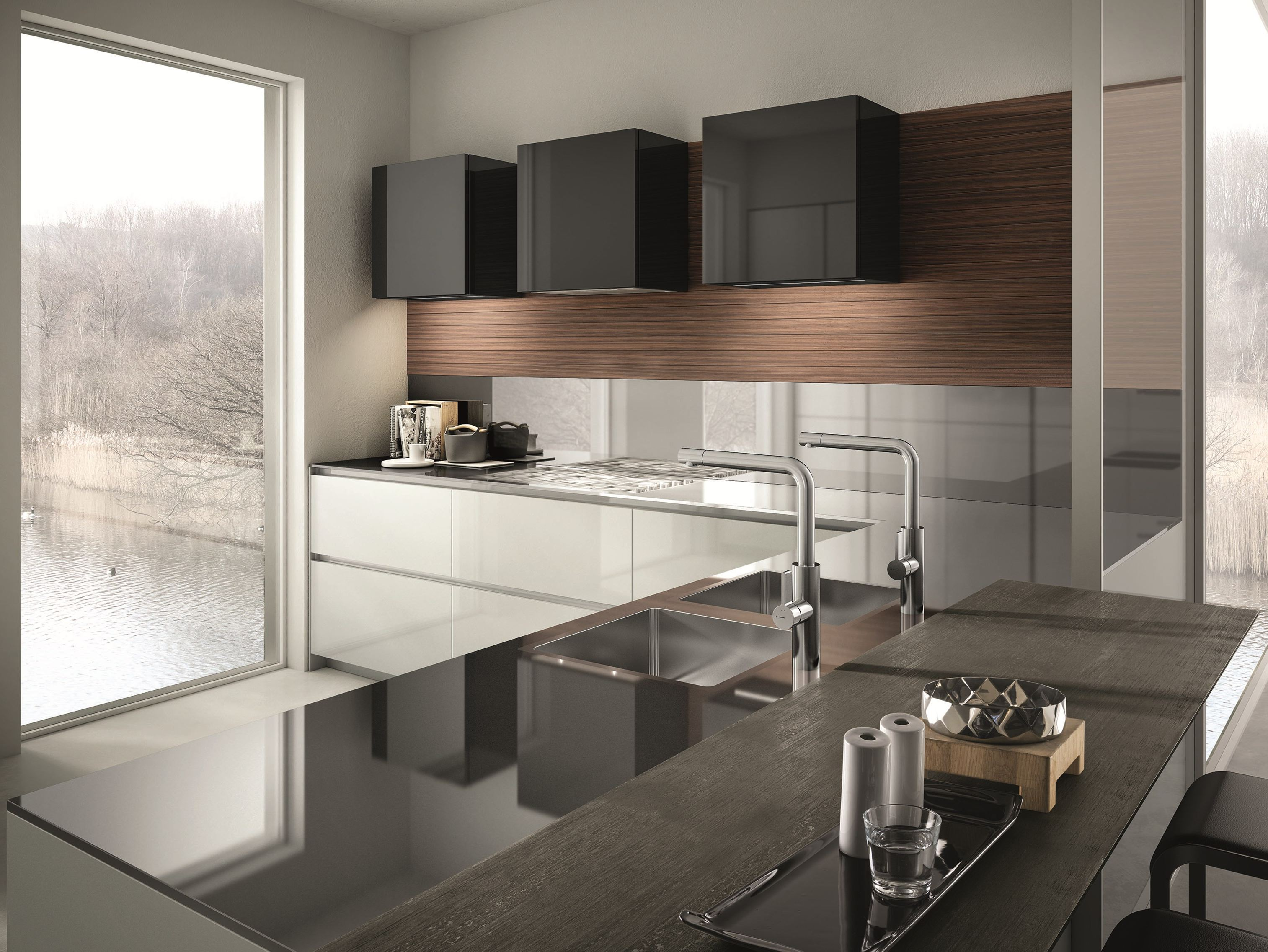 Contempora kitchen with peninsula contempora collection by - Cucine a penisola ...
