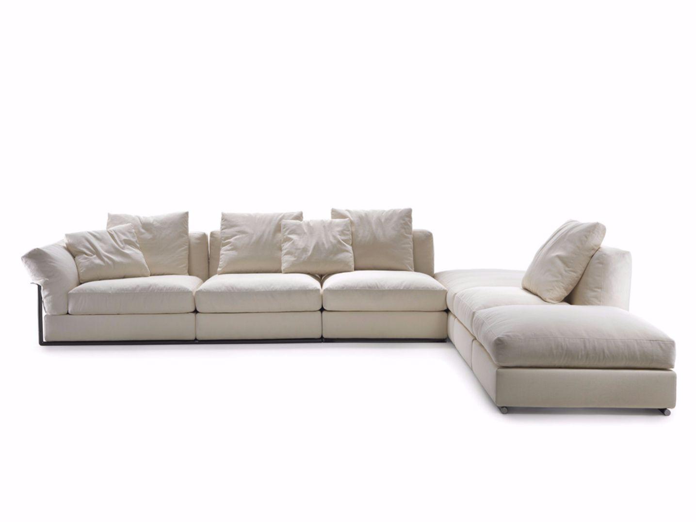Zeno divano angolare collezione zeno by flexform design antonio citterio - Divano componibile angolare ...