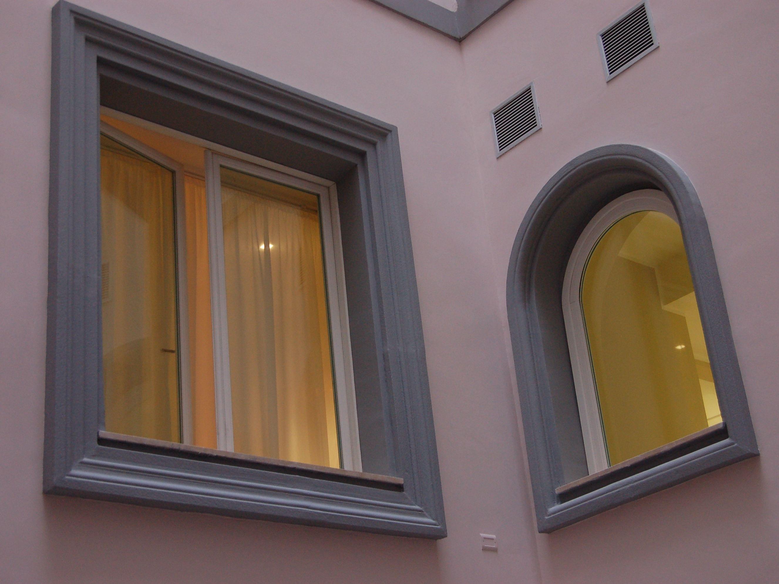 Cornici contorni per finestre by eleni - Soglie per finestre moderne ...