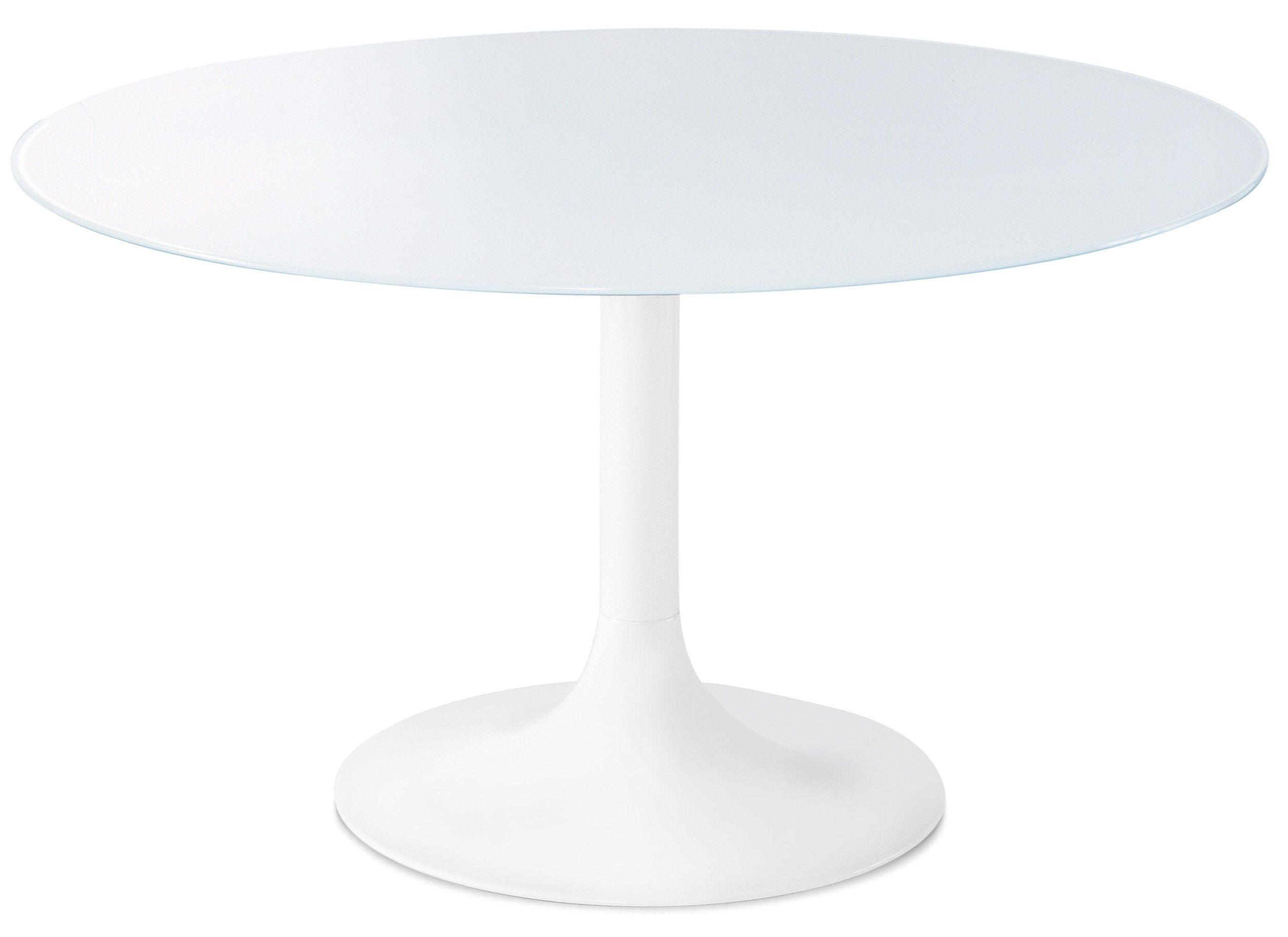 Tavolo rotondo in vetro corona 120 by domitalia