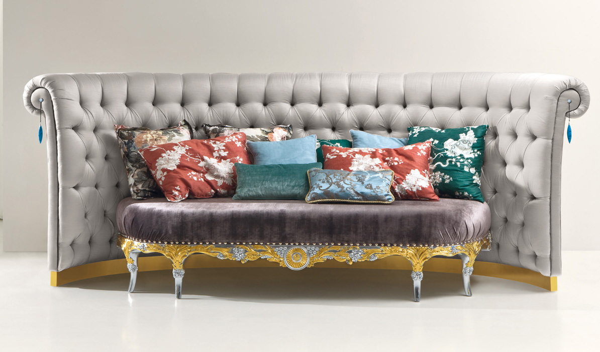Cp178 divano collezione capri by rozzoni mobili d 39 arte for Web mobili outlet