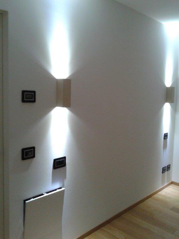 Porta faretti in Cartongesso CUBOTTI LED DOPPI 90° Collezione Gyps light by Gyps