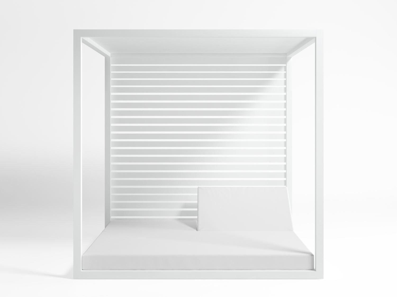 Daybed letto da giardino in alluminio collezione daybed by - Letto da giardino ...