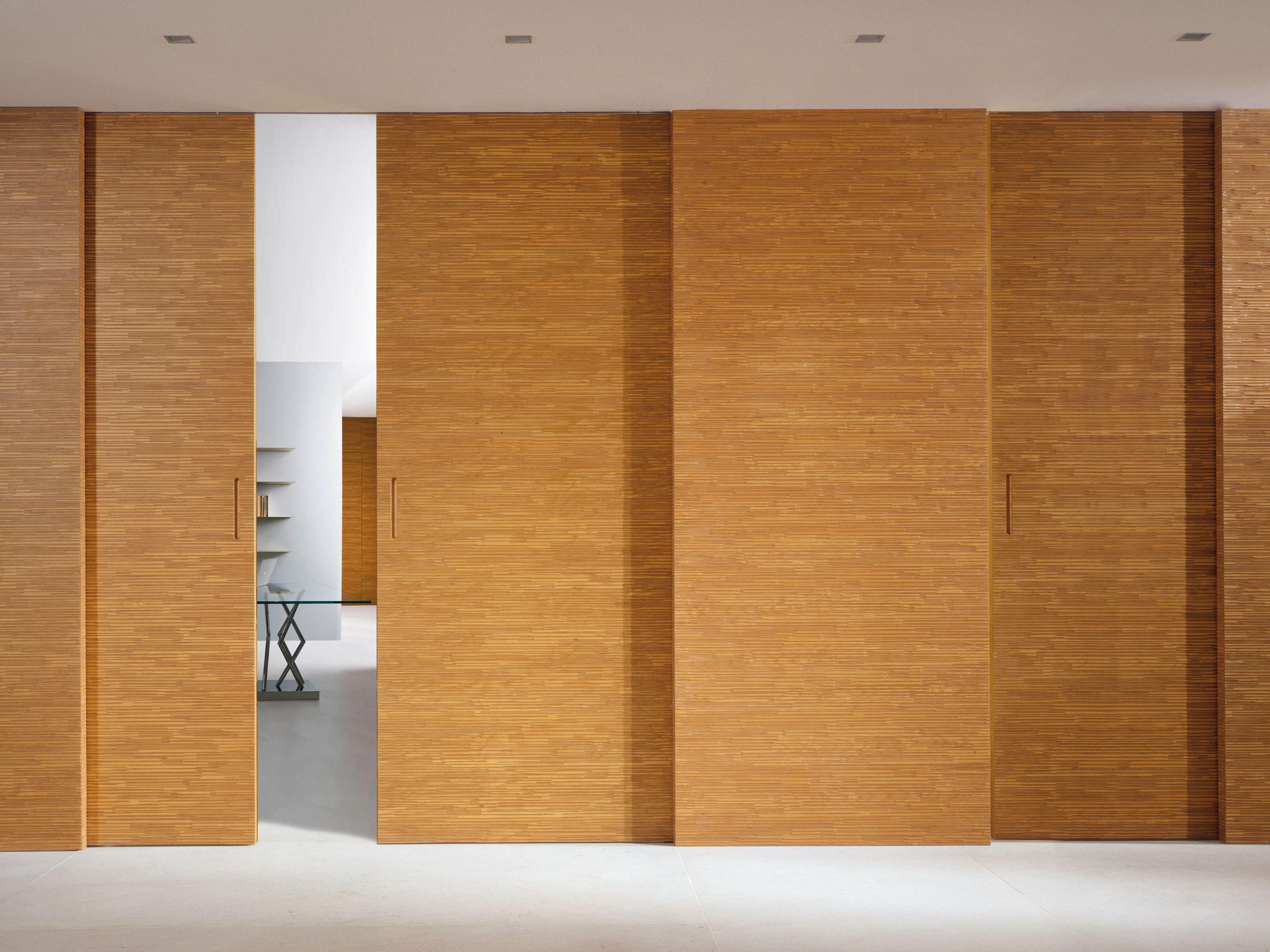 Porta scorrevole senza telaio bd 16s collezione decor by laurameroni design bartoli design - Telaio porta scorrevole ...