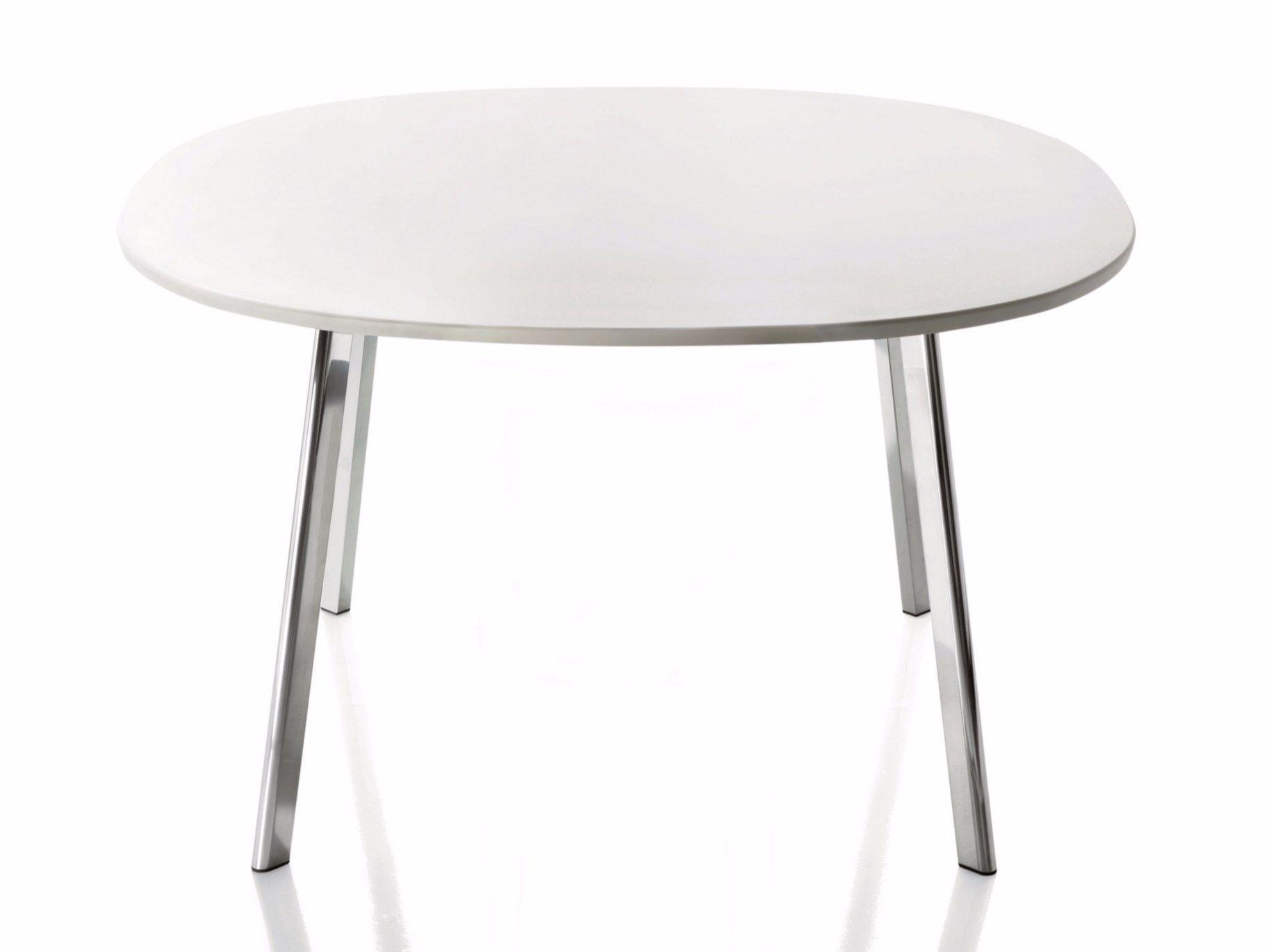 Tavolo Rotondo In Hpl Collezione Dej Vu By Magis Design