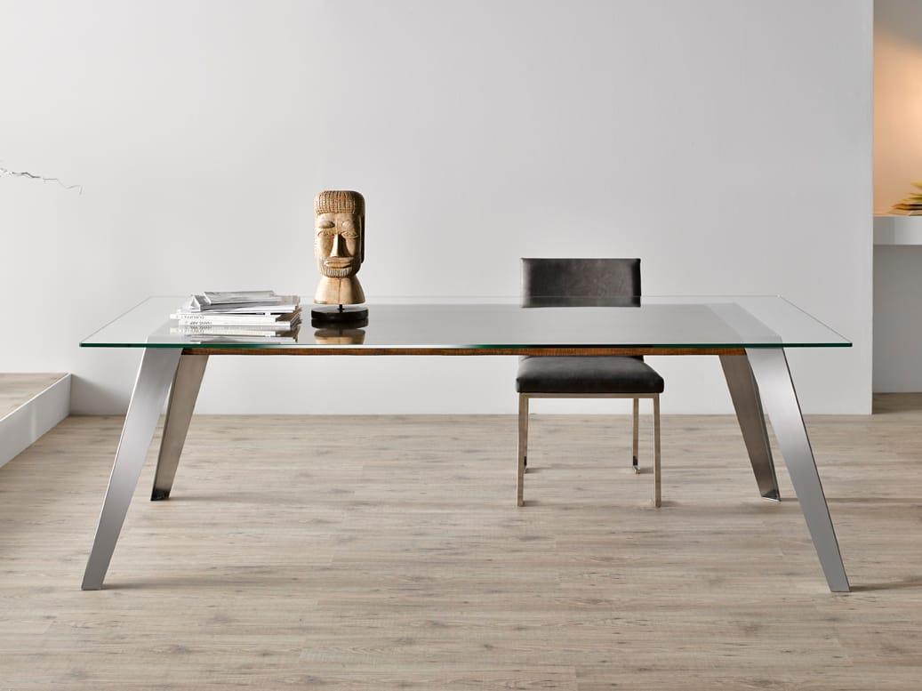 NORDIC Tavolo da pranzo Collezione Nordic by Altinox Minimal Design