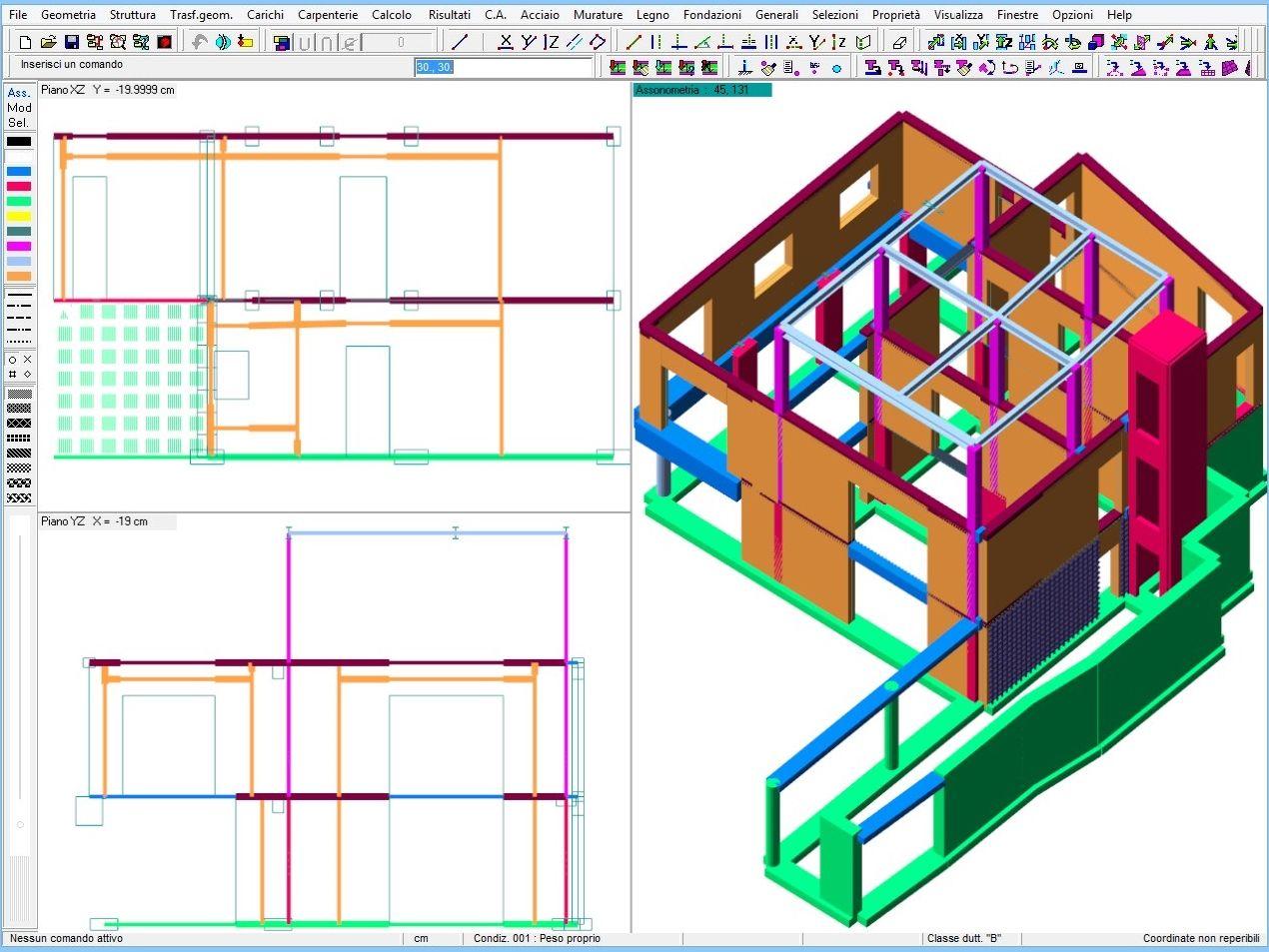 MURATURE Software Per Il Calcolo Strutturale E La Progettazione Di #076EC4 1281 981 Software Per La Progettazione Di Cucine