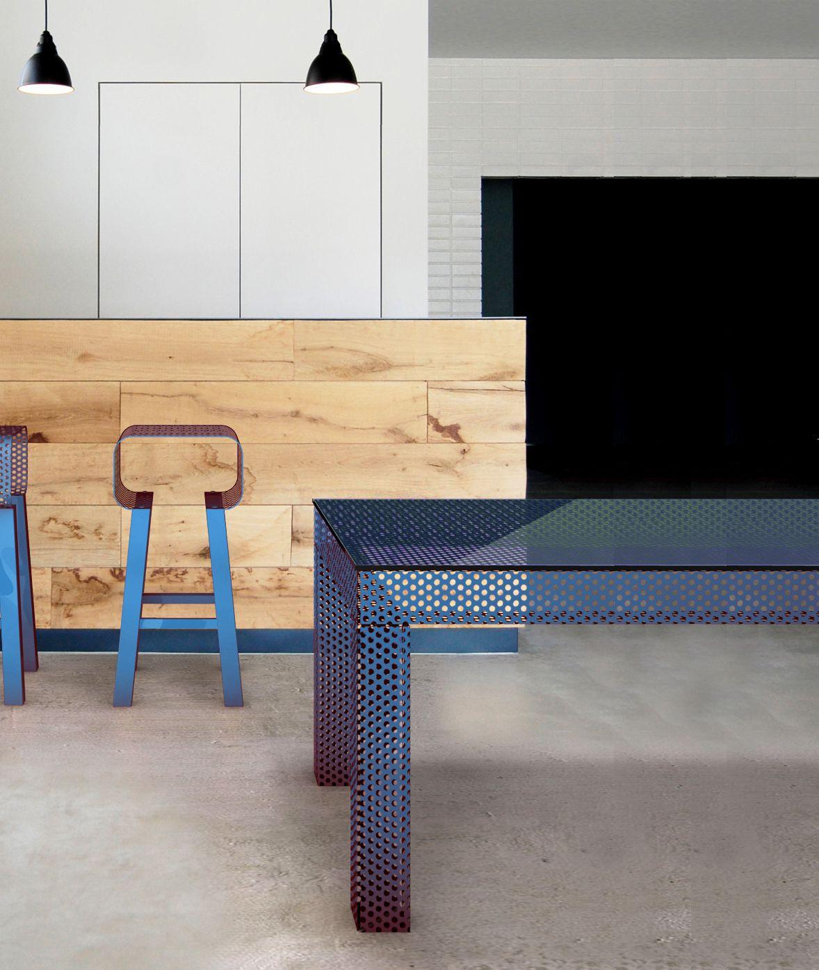 Easy tavolo quadrato by garda design design piter perbellini for Tavolo quadrato design