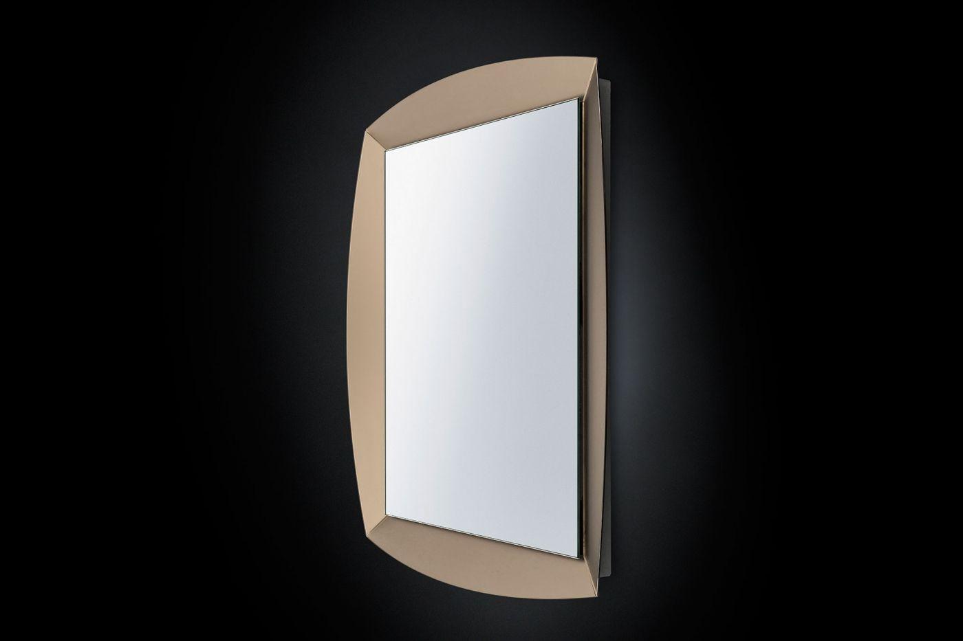Specchio A Parete Con Cornice Per Ingresso Emerald By