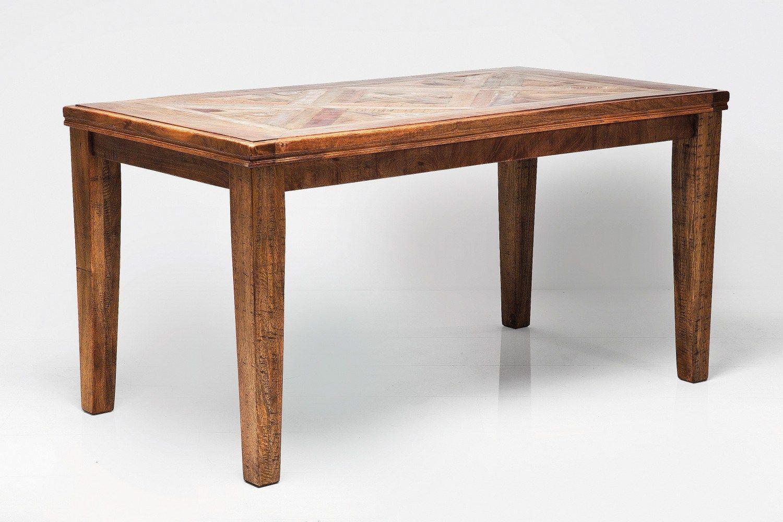 Tavolo rettangolare in legno epoca color by kare design for Tavolo rettangolare design