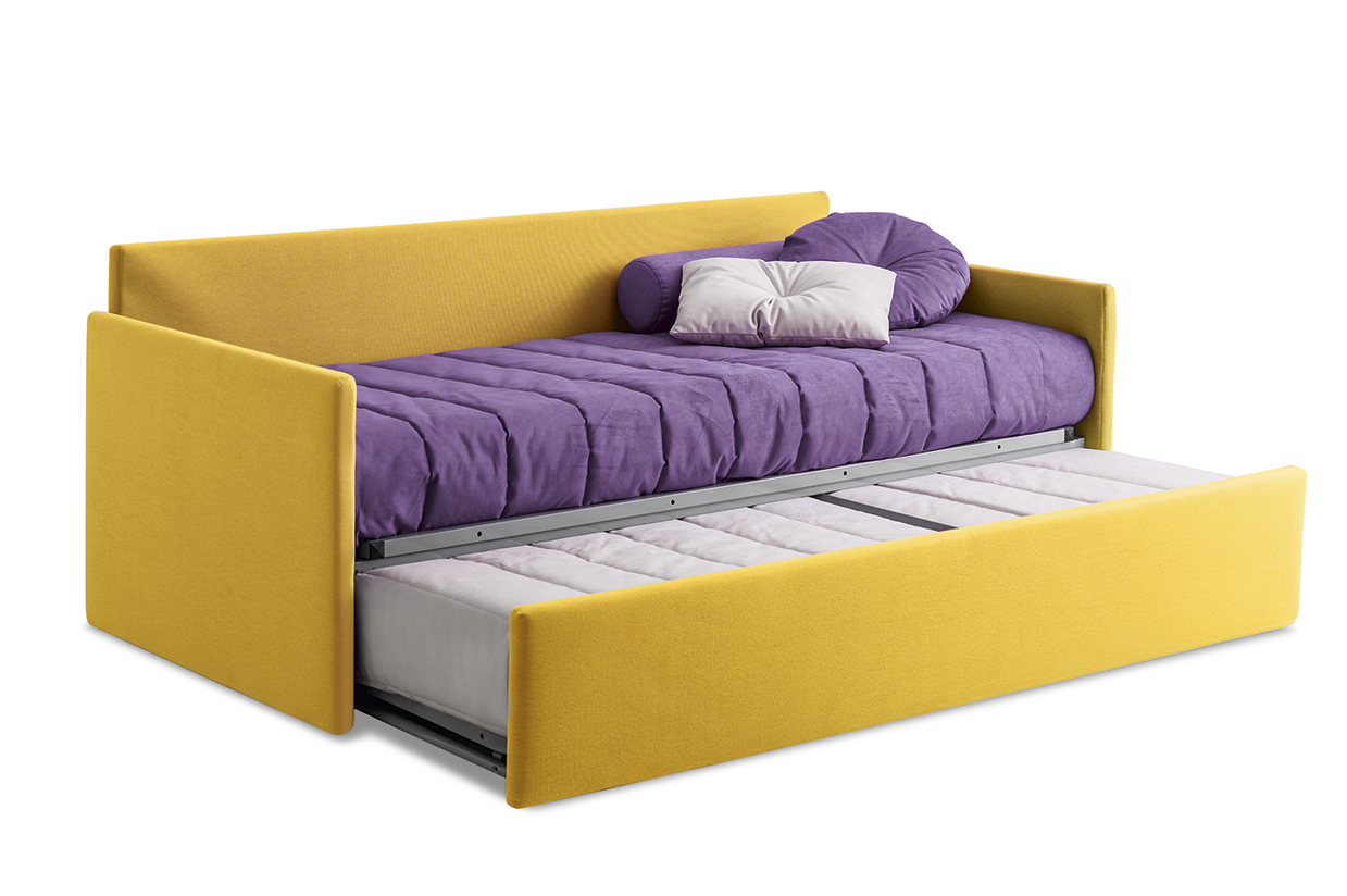 lit coffre convertible en tissu erik collection bed stories by felis. Black Bedroom Furniture Sets. Home Design Ideas