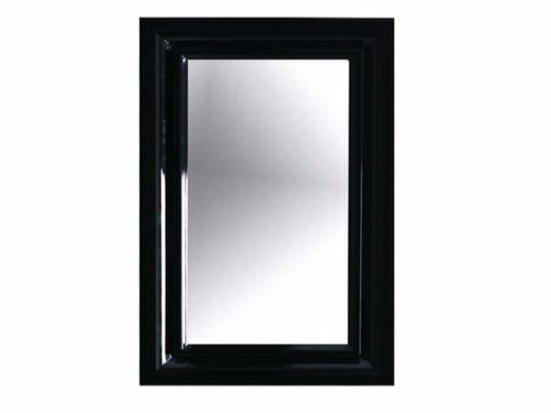 Ethos 60 specchio collezione ethos by galassia design antonio pascale - Specchio bagno con cornice ...