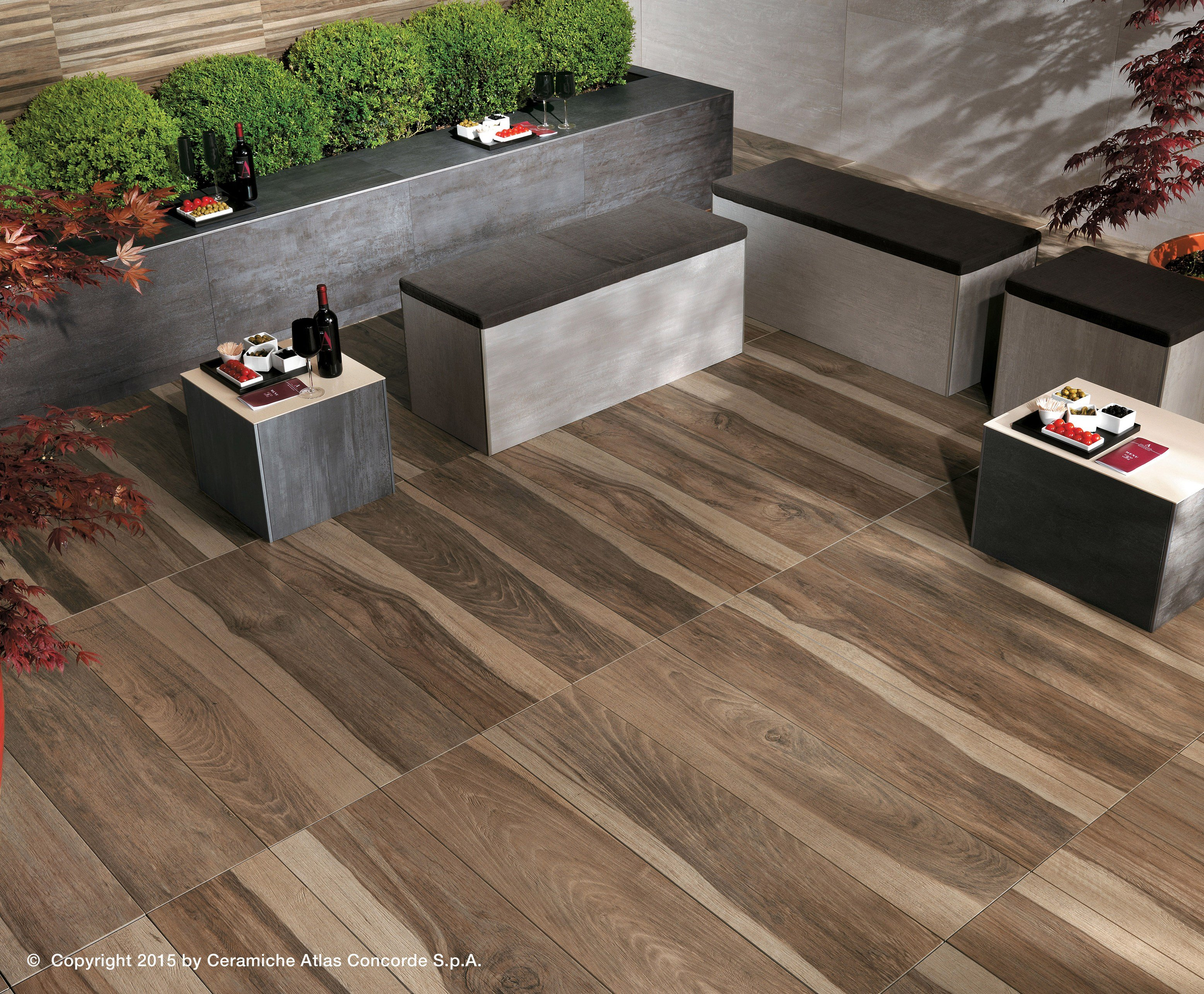 Porcelain stoneware decking ETIC PRO - OUTDOOR PAVING by Atlas Concorde