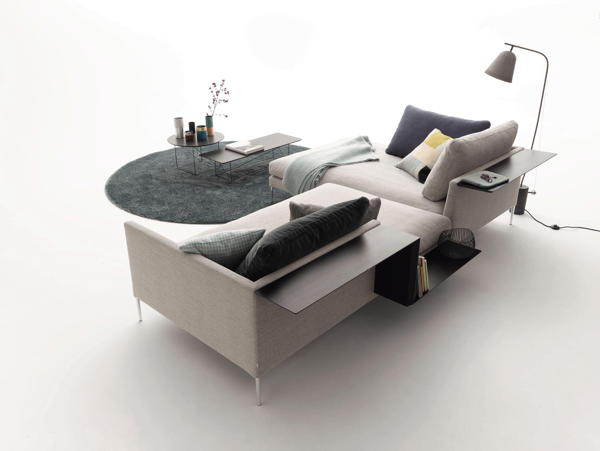 pilotis sofa aus stoff kollektion pilotis by cor sitzm bel helmut l bke design metrica. Black Bedroom Furniture Sets. Home Design Ideas
