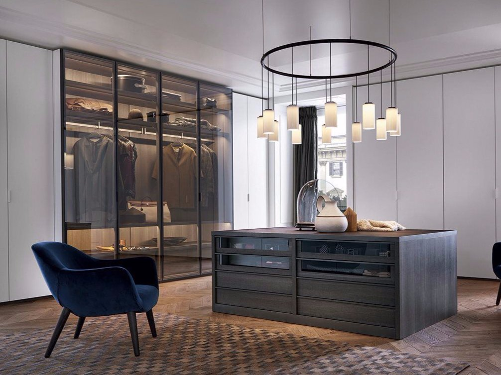 Fitted Wardrobe By Poliform Design Rodolfo Dordoni