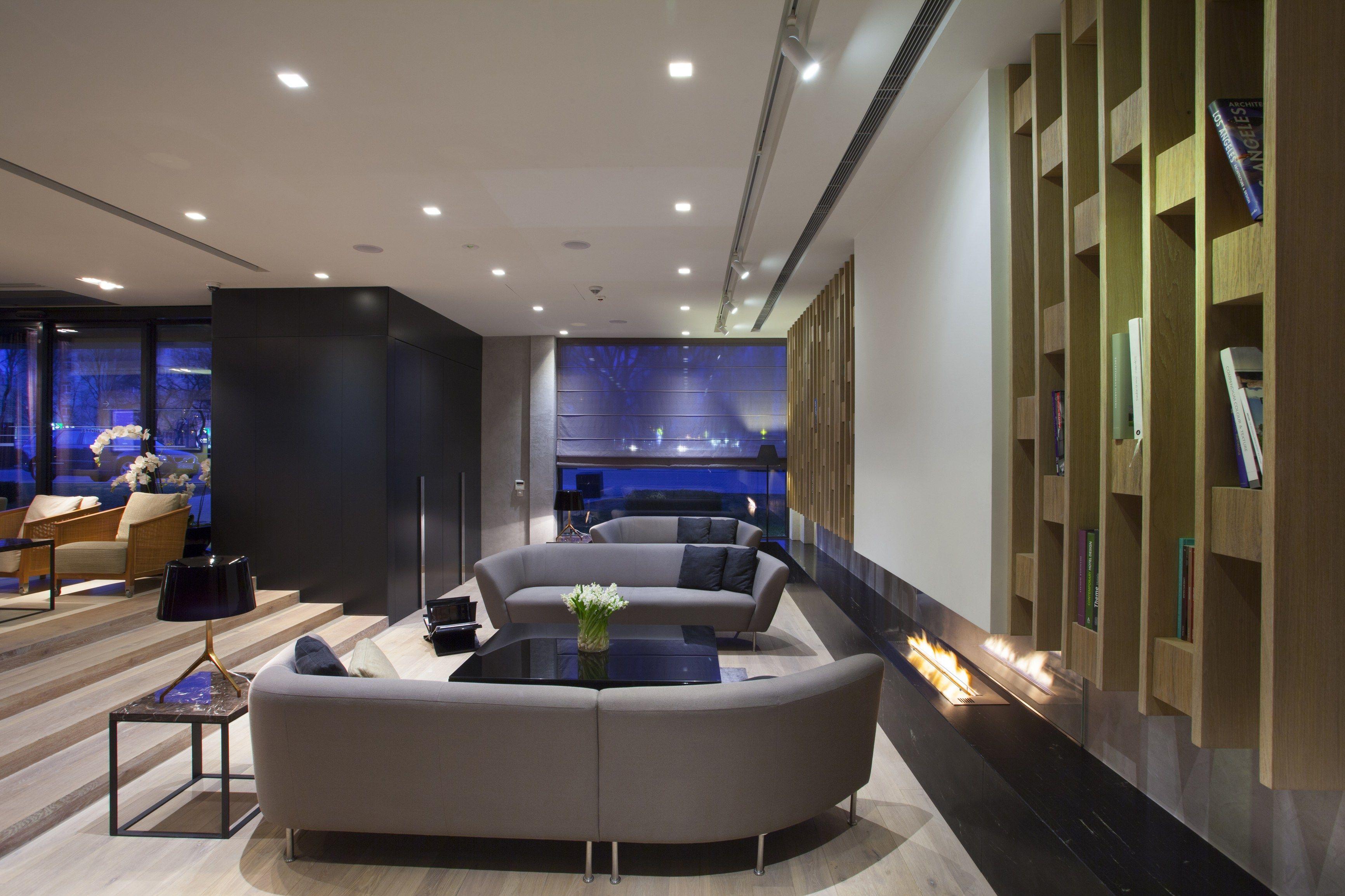 Bioethanol Fireplace insert FLA2 model E Architects line ...