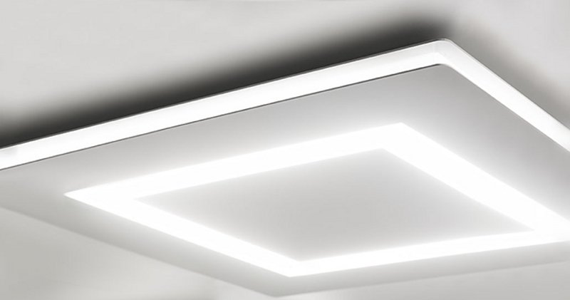 Plafoniere Per Bagno : Flat LED Ceiling Lights