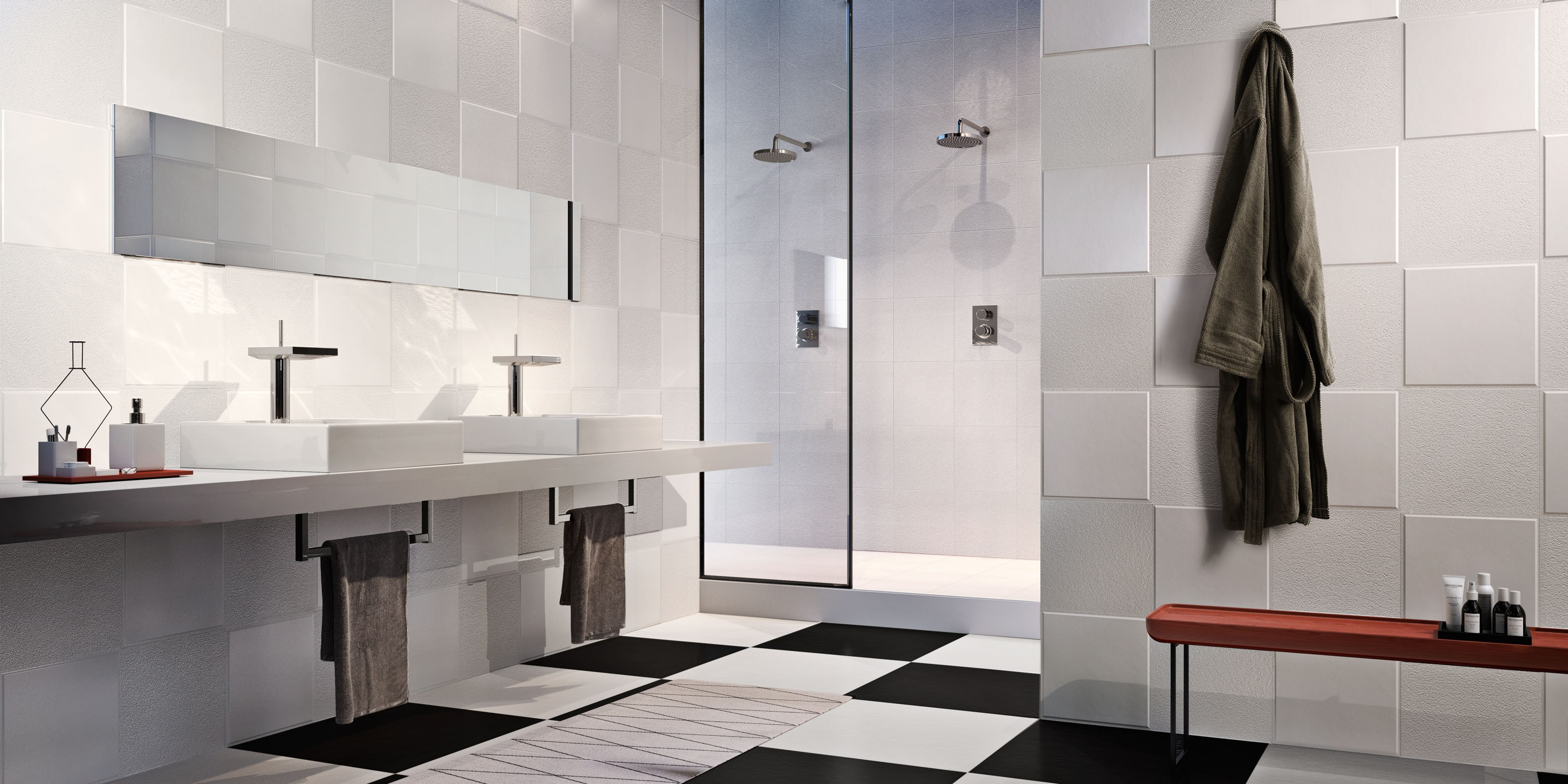 rev tement de sol mur en gr s c rame flexi technic by ceramica sant 39 agostino design philippe starck. Black Bedroom Furniture Sets. Home Design Ideas