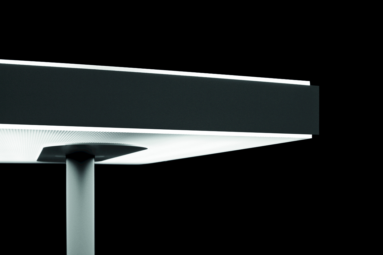 Linea floor lamp linea collection by quadrifoglio sistemi for Quadrifoglio sistemi d arredo