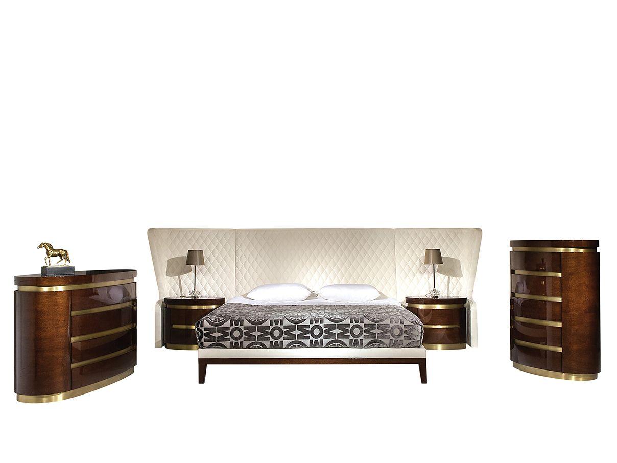 Camera da letto in legno florida by mobi for Camera letto legno