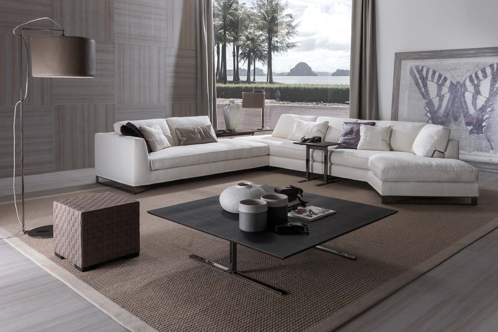 table basse bois fly. Black Bedroom Furniture Sets. Home Design Ideas