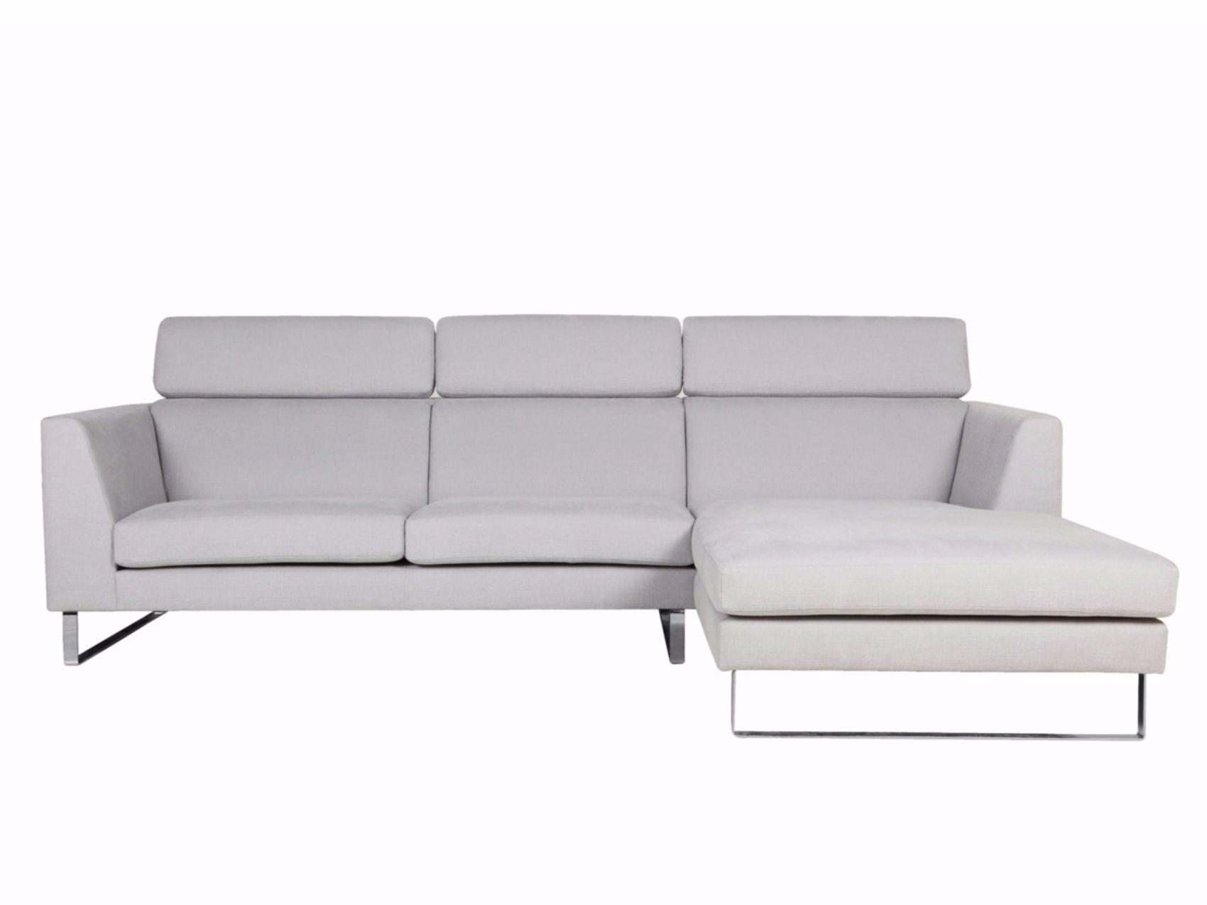 Divano imbottito in tessuto a 4 posti con chaise longue fly by sits design ian archer - Divano 4 posti con chaise longue ...