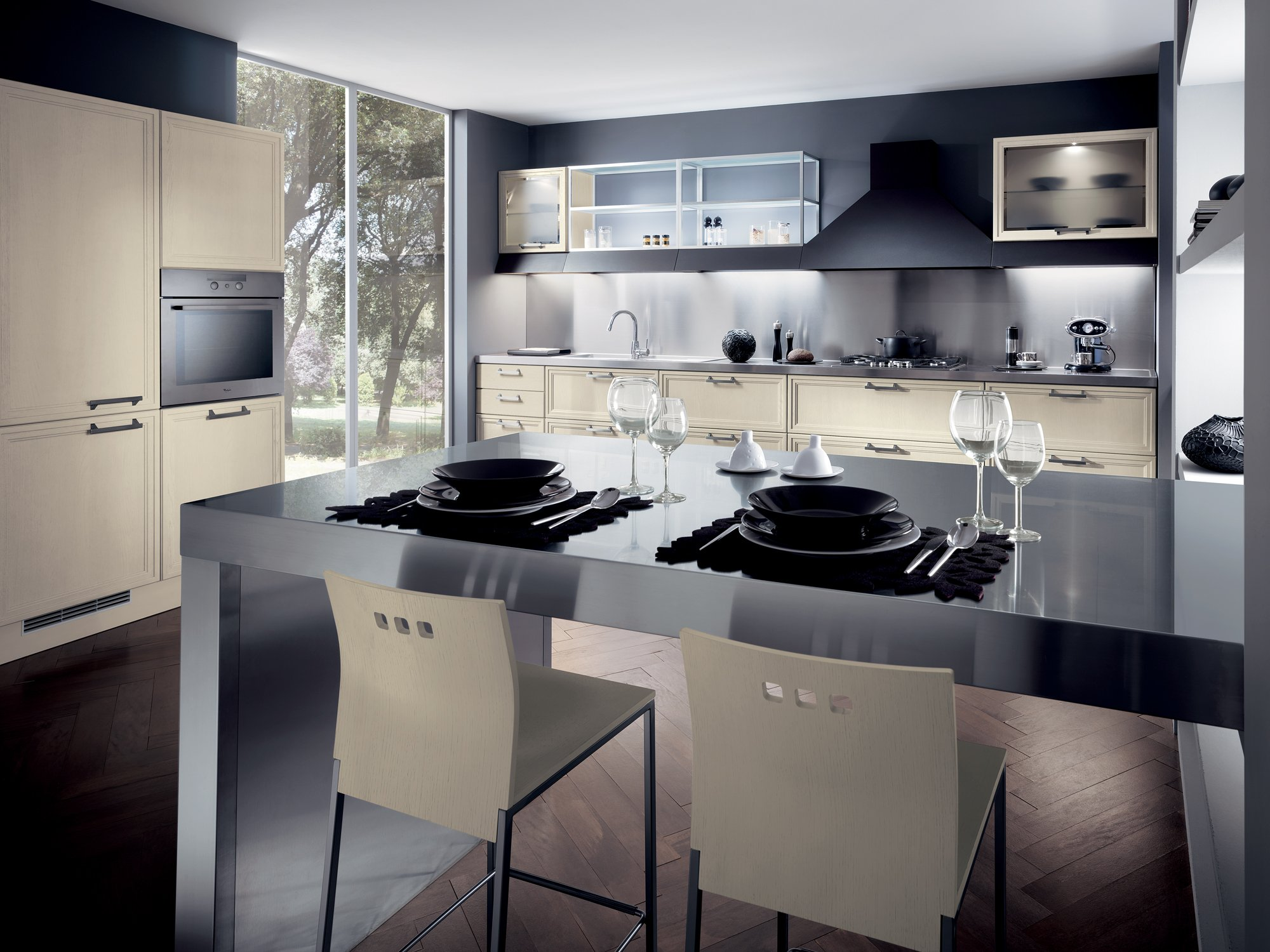 Cucina componibile focus linea scavolini by scavolini for Accessori cucina design