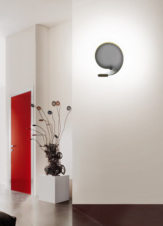 formala wall lamp formala collection by cini nils design luta bettonica. Black Bedroom Furniture Sets. Home Design Ideas
