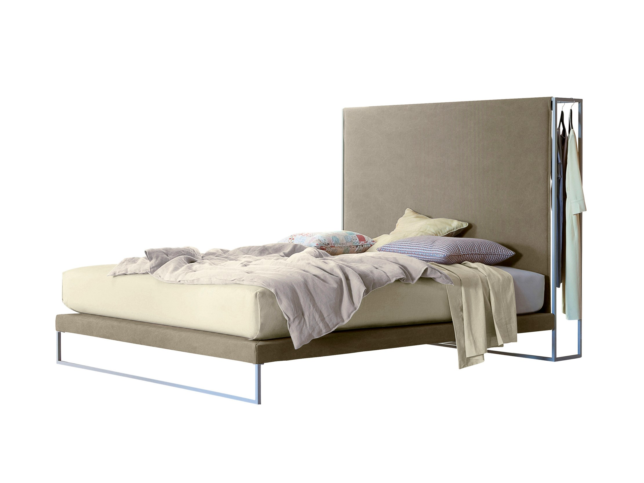 Letto con armadio frame by twils design monica graffeo for Letto con armadio