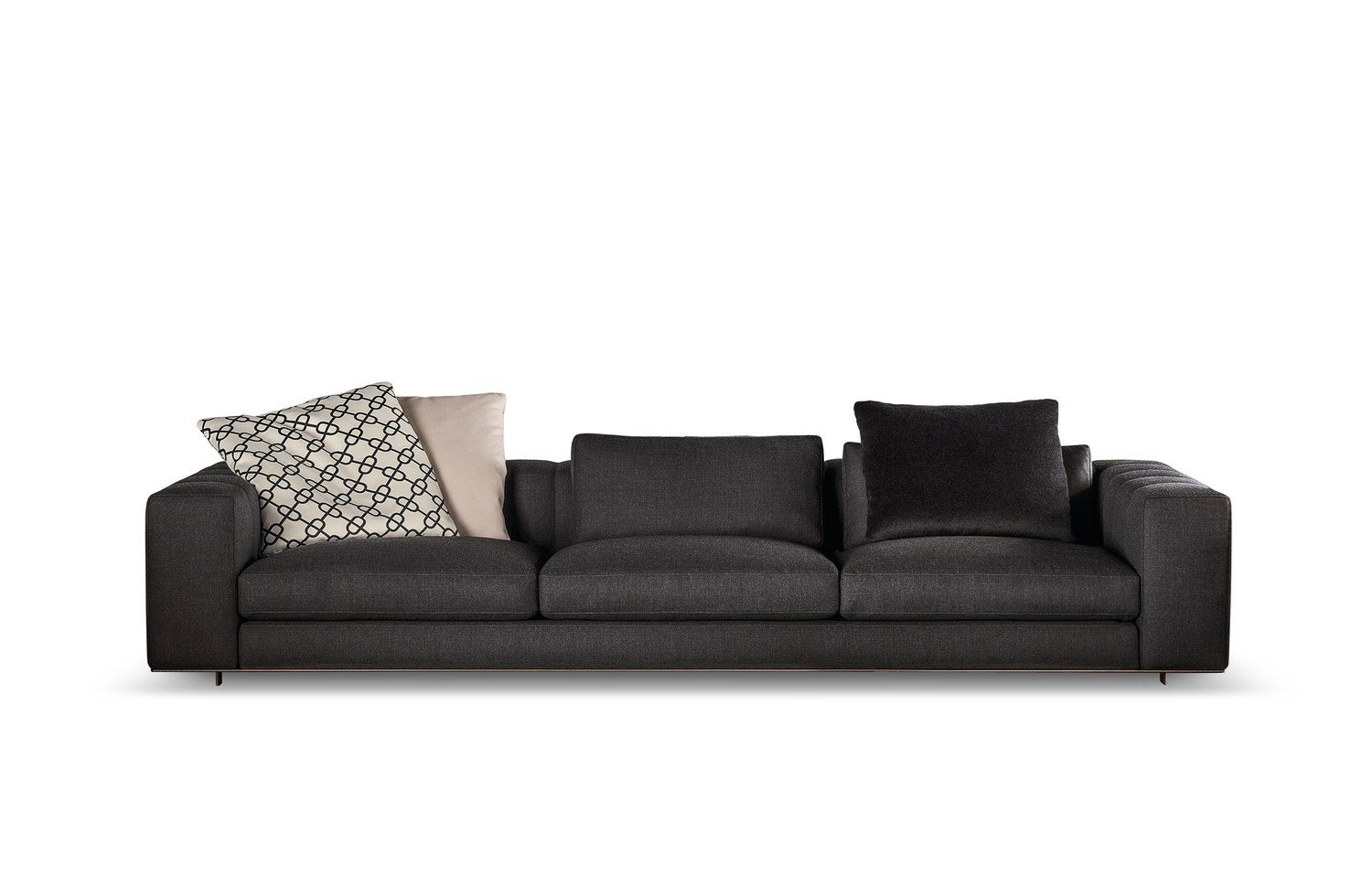 sofa freeman duvet by minotti design rodolfo dordoni. Black Bedroom Furniture Sets. Home Design Ideas