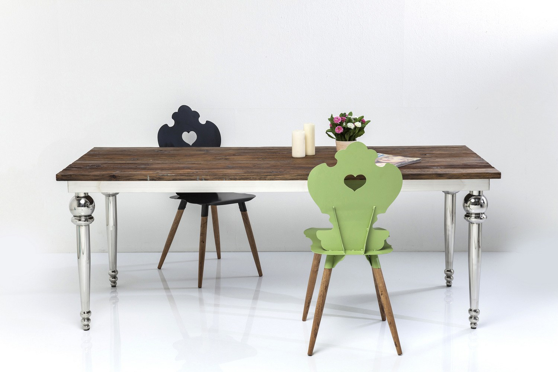 Fusione tavolo rettangolare by kare design for Tavolo rettangolare design