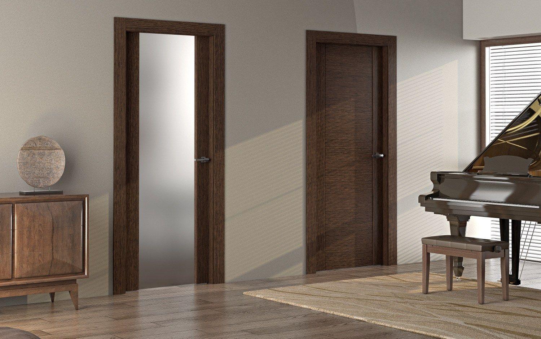 Gaia porta in legno e vetro collezione gaia by pail serramenti - Porta legno vetro ...