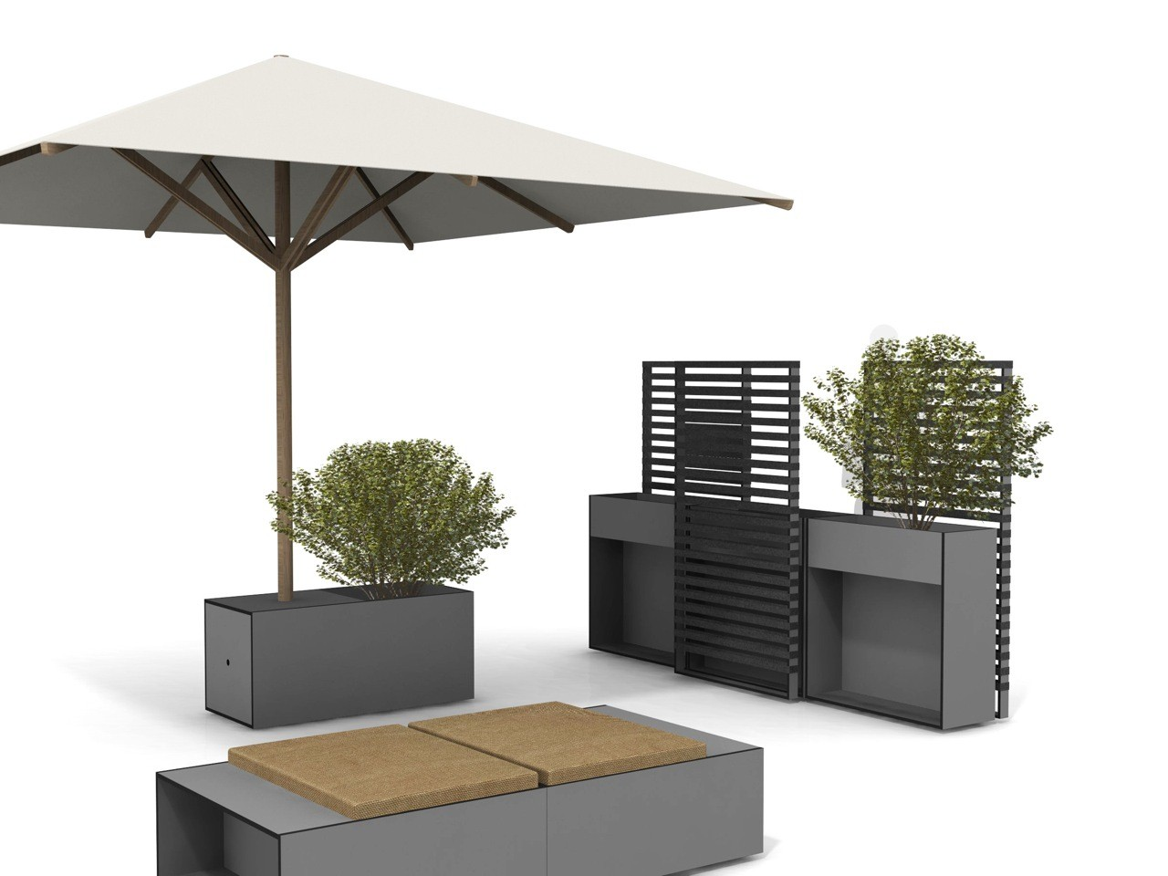 Ticino schermo divisorio da giardino collezione ticino by for Divisori da giardino