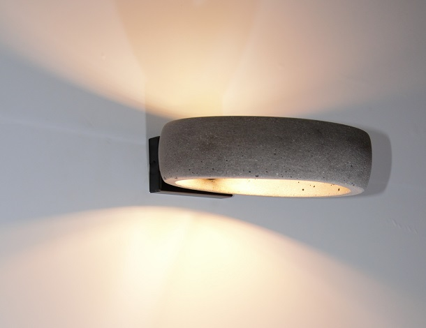 Funky Modern Wall Sconces : Concrete wall lamp GHETTO W Funky Collection by URBI et ORBI