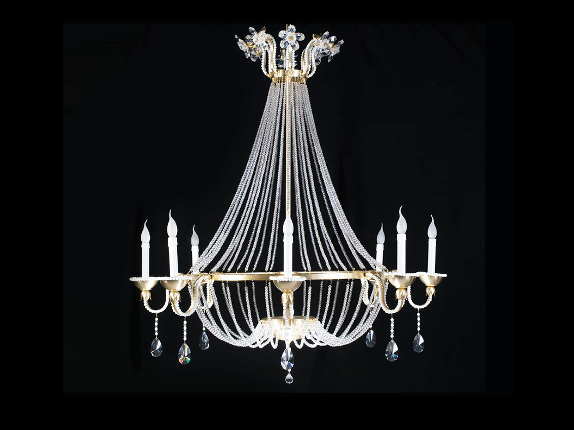 Indirect light chandelier GIADA Giada Collection by Aiardini Illuminazione