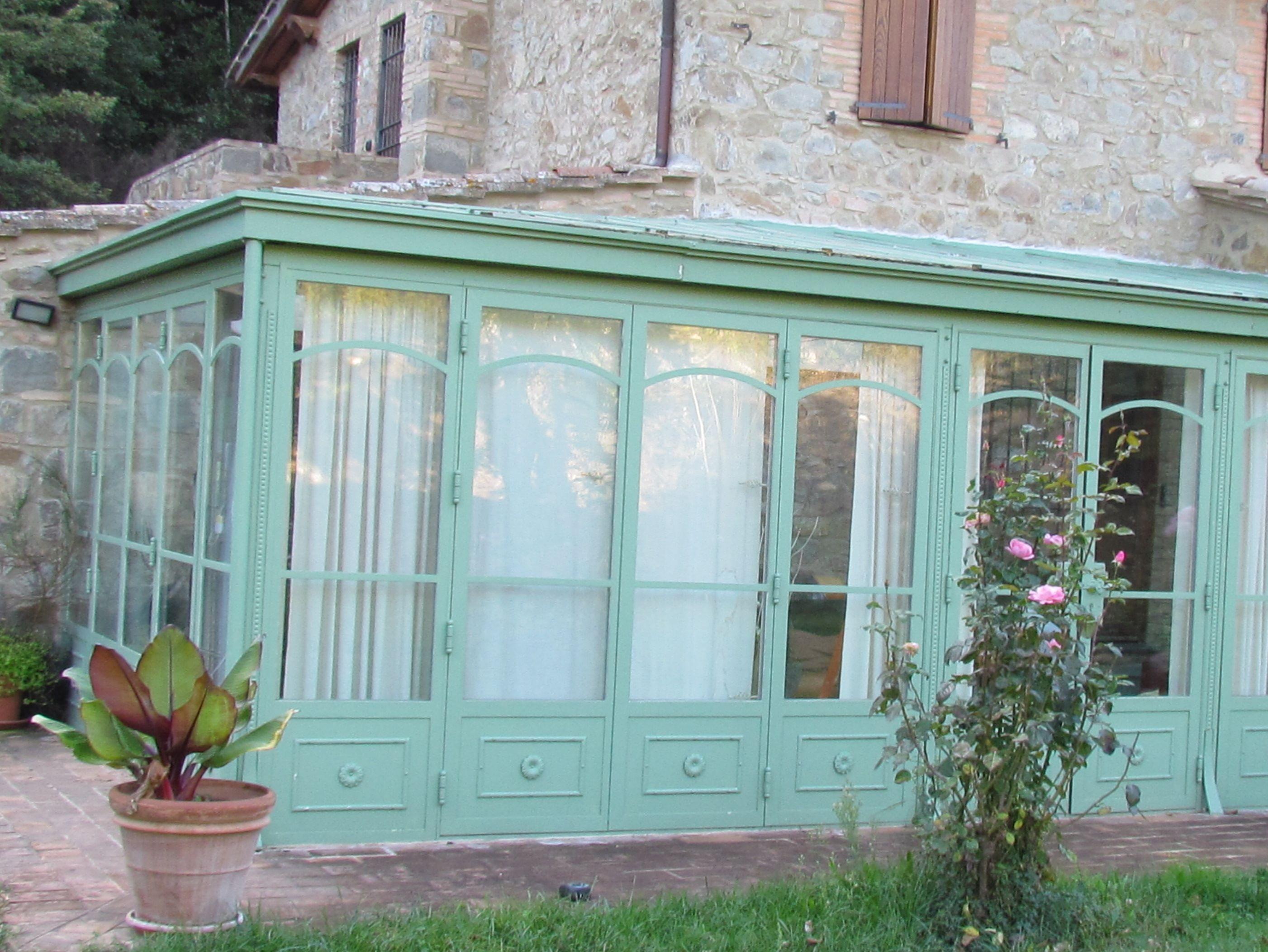 Giardino d inverno pizzeria livorno idee per il design - Giardino d inverno normativa ...